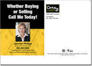 Real Estate Postcards, Century 21 Postcard
