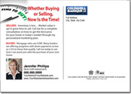 Real Estate Postcards, Coldwell Banker Postcard