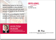 Real Estate Postcards, Crye Leike Postcard