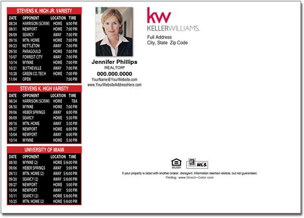 Real Estate Postcards Keller Williams Postcards