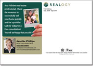 Real Estate Postcards, Realogy Postcard