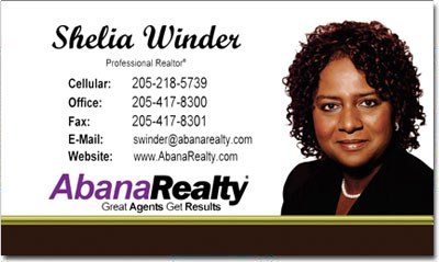 Real Estate Business Cards on Realtor Business Cards