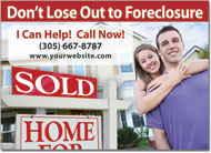Foreclosure Postcards