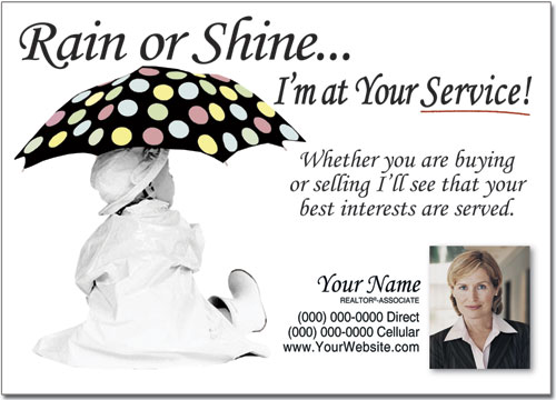Real Estate Prospecting Postcards, Marketing Postcard, Advertising Post card, Custom Post cards