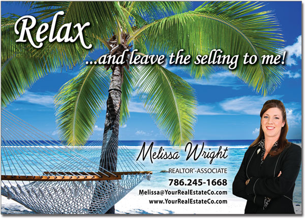Realtor Vacation Postcards