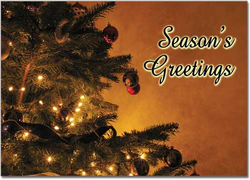Real Estate Seasons Greeting Postcards, Postcard