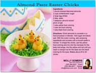 Easter Recipe Postcards, Postcard, Post cards