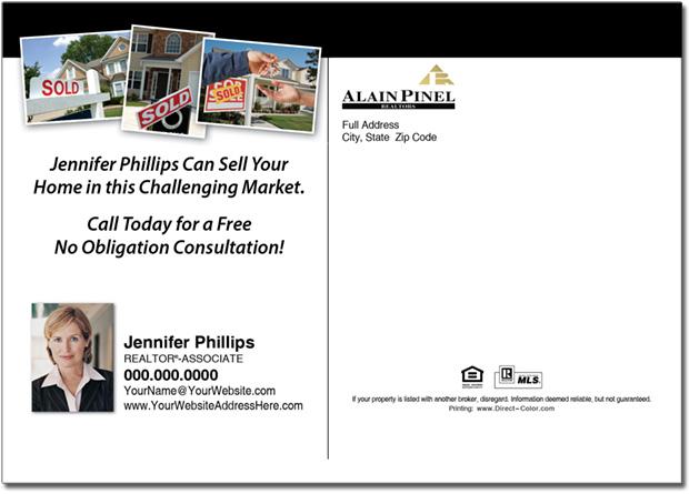 Real Estate Postcards, Alain Pinel Postcards