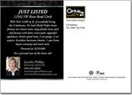 Real Estate Postcards, Century 21 Just Listed Postcard