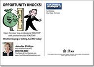 Real Estate Postcards, Coldwell Banker Farming Postcard