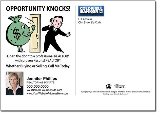 Real Estate Postcard, Coldwell Banker Farming Postcards