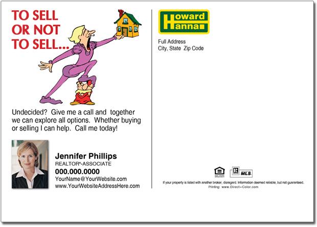 Real Estate Postcard, Howard Hanna Farming Postcards