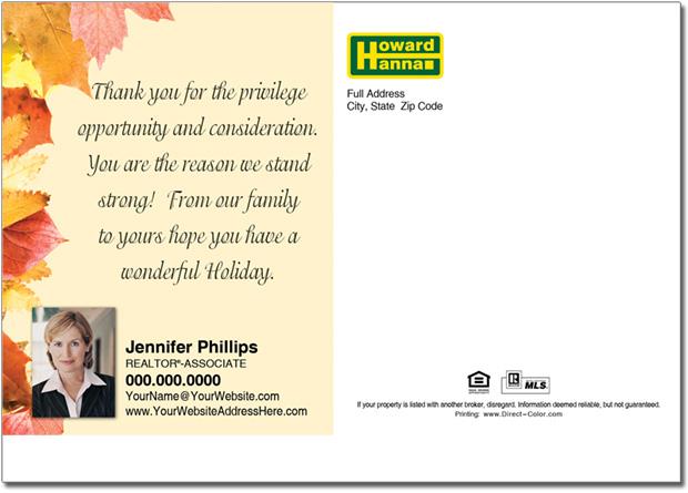 Real Estate Postcards, Howard Hanna Postcards