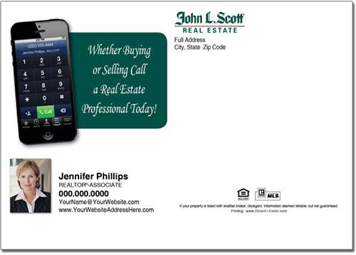 Real Estate Postcards, John L Scott Postcards
