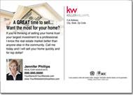 Real Estate Postcards, Keller William Postcards