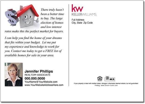 Real Estate Postcards, Keller Williams Postcards