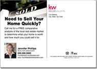 Real Estate Postcards, Keller Williams Realtor Postcard