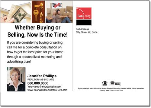 Real Estate Postcards, Real Living Postcards