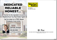 Real Estate Postcards, Weichert Postcard