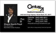 Century 21 Business Cards