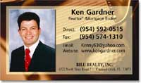 Real Estate Business Card Labels