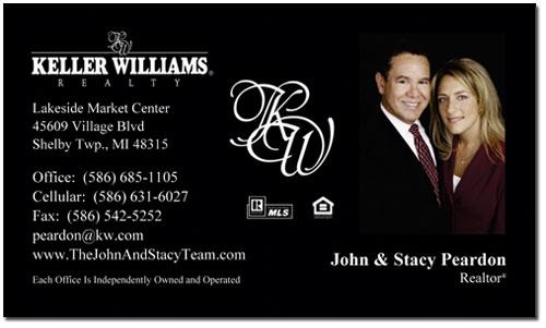 Keller Williams Business Cards, Business Card