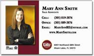 Mortgage Business Card Magnets