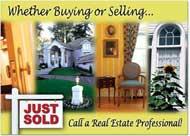 For Sale Sign Card, Real Estate Postcards
