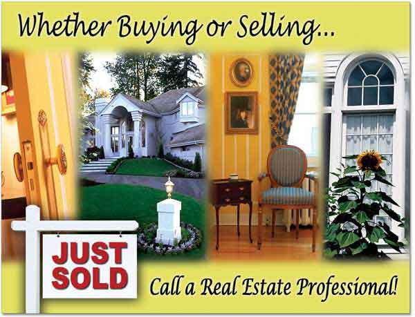 For Sale Sign Postcard, Marketing Postcards, Advertising Post card, Custom Post cards