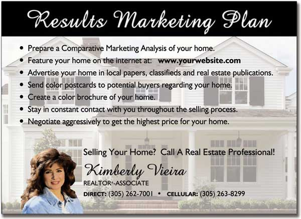 Real Estate Marketing Postcards, Advertising Post card, Custom Post cards
