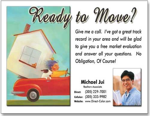 Estate Postcard Idea, Marketing Postcards, Advertising Post card ...