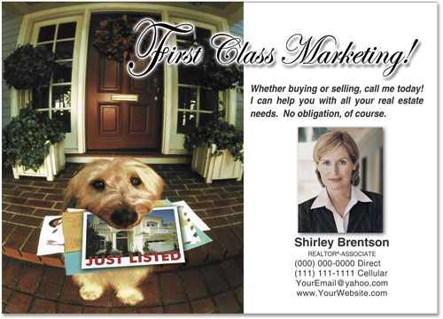 Realtor Advertising Postcards