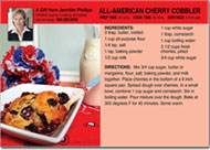 4th of July Recipe Postcards
