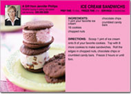 Ice Cream Recipe Postcard