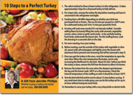 Turkey Recipe Postcards